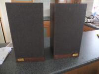 Vintage Acoustic Research AR4xa speakers.