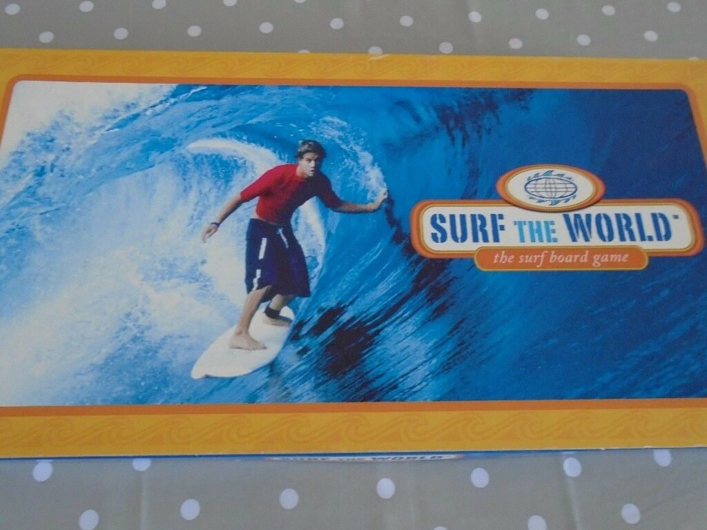 Surf the World Board Game. All complete and in excellent condition