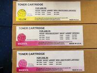 Various toners