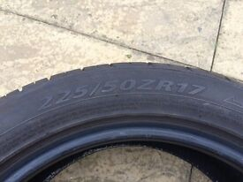 Tyre 225/50/R17