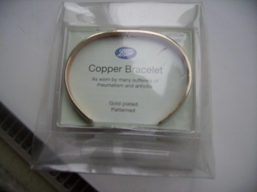 copper bracelet boots
