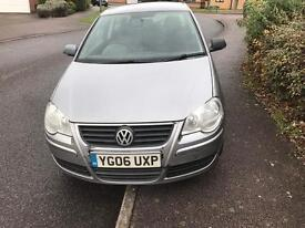 2006 1.2 Volkswagen Polo 3 door Silver 12 months Mot and fully serviced