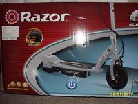 Electric Scooter The RAZOR E100-SILVER