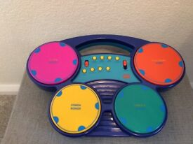 Electronic Toy Drum Machine