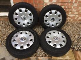 Wheels and Tyres off VW Golf : SOLD