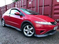 Honda Civic Type S 1.4 Petrol Year Mot No Advisorys Cheap To Run And Insure Drives Great !