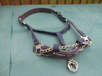 Horse chain head collar
