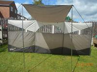 gelert canopy breeze blocker windbreak new