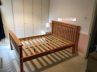 Solid Wood 4'6'' Double Bed Frame - Collection from Pinner HA5