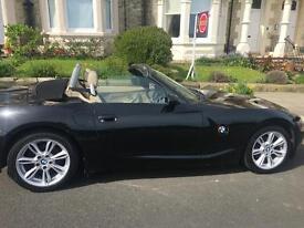 BMW Z4 convertible.