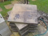 FREE. 8 paving flags 2x2x2 must collect