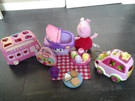 Girls toys Peppa