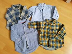 Bundle of shirts 18-24 months