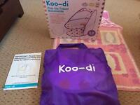 Koo-di Pop-Up Travel Basinette Cot