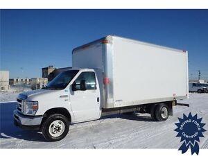 2016 Ford E-450 16 ft Cube Van Rear Wheel Drive - 56,804 KMs