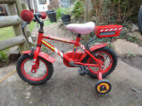 Apollo Firechief Rescue Bicycle + stabilisers