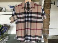Burberry boys shirt
