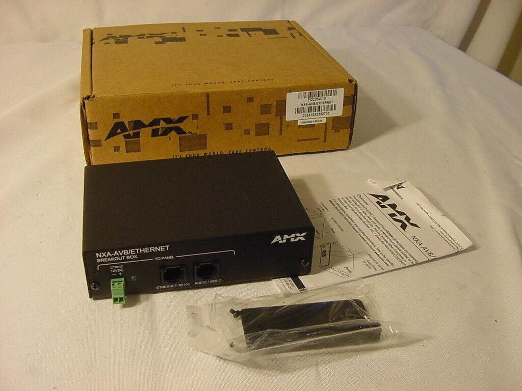 AMX NXA-AVB/ETHERNET BREAKOUT BOX