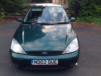 2002 Ford Focus 1.6i 16v LX 5dr
