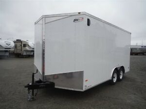 2017 RC Trailers RWT 8.5X16 TA2 FLAT TOP V-NOSE