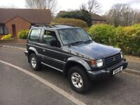 MITSHUBISHI SHOGUN 2.5 TURBO DIESEL 4X4 MANUAL NEW MOT PORTSMOUTH