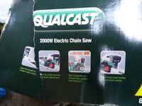 Qualcast 2000w electric chainsaw
