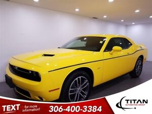 2018 Dodge Challenger AWD|CAM|Leather|NAV|Bluetooth