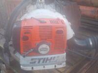 STIHL BR 420 LEAF BLOWER, WORKS FINE. PICK UP MATLOCK OR NOTTINGHAM