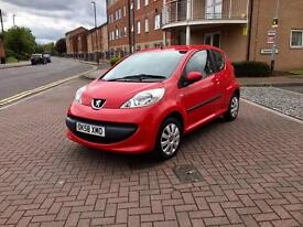 2008 Peugeot 107 only 33,000 miles £30 Tax just serviced! 3 months warranty