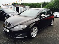 2012 SEAT Leon 2.0 TDI FR Plus 170 12 Months Warranty, 2 YEARS MOT, Finance available