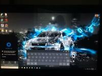 "Touch screen 23"" all in one desktop PC"