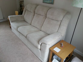 G Plan 3 seater settee and 2 seater settee.