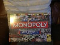 Rare Monopoly set-Unite Students