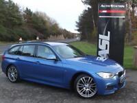 BMW 3 SERIES 330d xDrive M Sport 5dr Step Auto (blue) 2014