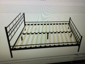 6 ft metal bed frame