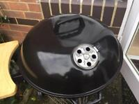 Coal BBQ and cover