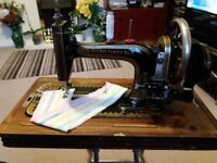 Antique Sewing Machine - Harris Family No.2