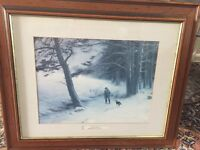 To winters quarters - wooden frame