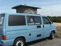 VW T4 Campervan Blue 1996