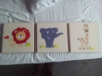 Lovely Pictures for a nursery