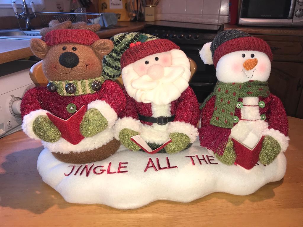 jingle all the way moving christmas decoration
