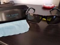 BNWT Ted Baker Mens Rhett 1409 173 57 Cat 3 Sunglasses Tortoise Colour TB1409
