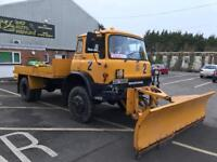 BEDFORD TK TURBO DIESEL 4WD SNOW PLOUGH, 1983 WITH GENUINE 14,000 MILES FROM NEW.