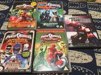 Power rangers DVD £15