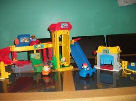Little People garage playset