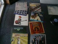 Beatles,Alice Cooper etc,X9 vinyl LPs.
