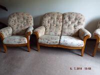 Cottage style suite, 3 piece.