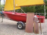 Turtle Sailing Dinghy Complete and ready to Sail