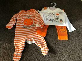 Baby Halloween outfit (0-3 months)