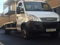Iveco daily 65c recovery breakdown truck beavertail NO VAT